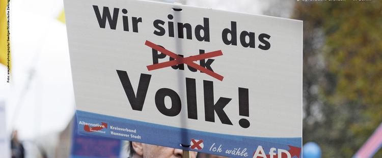 Vorschaubild: Volk, Volksgemeinschaft, AfD