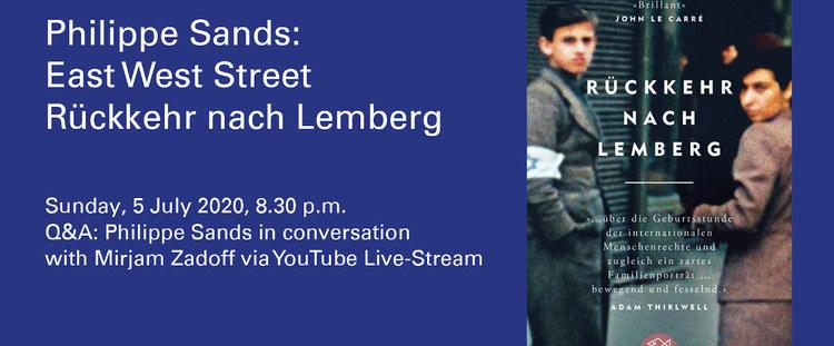 Vorschaubild: Philippe Sands: East West Street / Rückkehr nach Lemberg